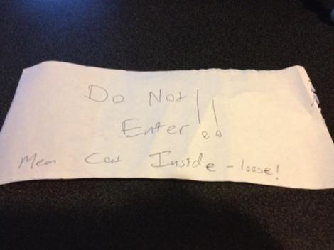 Do Not Enter